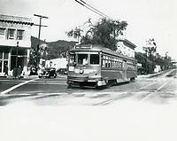 1937 Streetcar on Argyle at Yucca