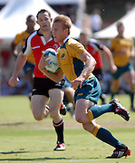 Peter Owens,Australia during the IRB Rugby Sevens tournament held at Adelaide Oval,Adelaide, South Australia,Saturday, April 5, 2008.<br /> Photo;Michael Oakes/SMP<br /> Conditions of Use: This image is intended for editorial use only (EG: news or commentary, print or electronic).  Any commercial or promotional use requires additional clearance.  Please contact for details.