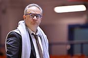 Sacripanti Stefano Pino<br />  Happycasa Brindisi - Segafredo Virtus Bologna<br /> Legabasket serieA  2018-2019<br /> Brindisi ,22/12/2018<br /> Foto Ciamillo-Castoria / M.Longo