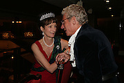 Iona, Duchess of Argyll and  Christopher Balfour, The Royal Caledonian Ball 2007. Grosvenor House. 4 May 2007.  -DO NOT ARCHIVE-© Copyright Photograph by Dafydd Jones. 248 Clapham Rd. London SW9 0PZ. Tel 0207 820 0771. www.dafjones.com.