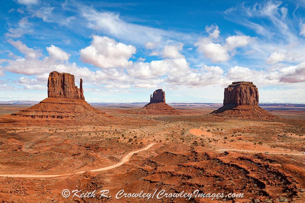 Monument Valley on the Utah Arizona Border