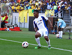 Buyani Sali of Chippa United during the 1st leg of the MTN8 Semi Final between Chippa United and Mamelodi Sundowns held at the Nelson Mandela Bay Stadium in Port Elizabeth, South Africa on the 11th September 2016<br /><br />Photo by: Richard Huggard / Real Time Images