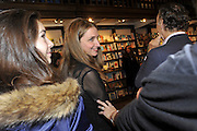 ALBA ARIKHA, Book launch for Major/Minor by Alba Arikha. A  memoir about her adolescence in Paris published by Quartet Books. Daunts. London. 8 November 2011<br /> <br />  , -DO NOT ARCHIVE-© Copyright Photograph by Dafydd Jones. 248 Clapham Rd. London SW9 0PZ. Tel 0207 820 0771. www.dafjones.com.