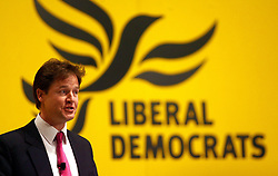 File photo dated 09/03/08 of Nick Clegg, who who has lost his Sheffield Hallam seat to Labour.