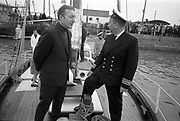 25 March 1969<br /> <br /> The Asgard, which took part in the 1916 gun running to Howth, is commissioned by the Minister for Finance, Charles Haughey.