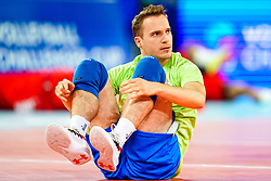 Jani Kovacic of Slovenia during volleyball match between Cuba and Slovenia in Final of FIVB Volleyball Challenger Cup Men, on July 7, 2019 in Arena Stozice, Ljubljana, Slovenia. Photo by Matic Klansek Velej / Sportida