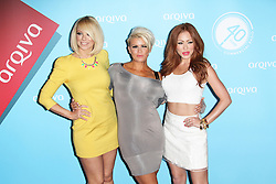 @ London News Pictures. Liz McClarnon; Kerry Katona; Natasha Hamilton; Atomic Kitten at the  Arqiva Commercial Radio Awards, The Westminster Bridge Park Plaza Hotel, London UK, 03 July 2013. Photo by Richard Goldschmidt/LNP