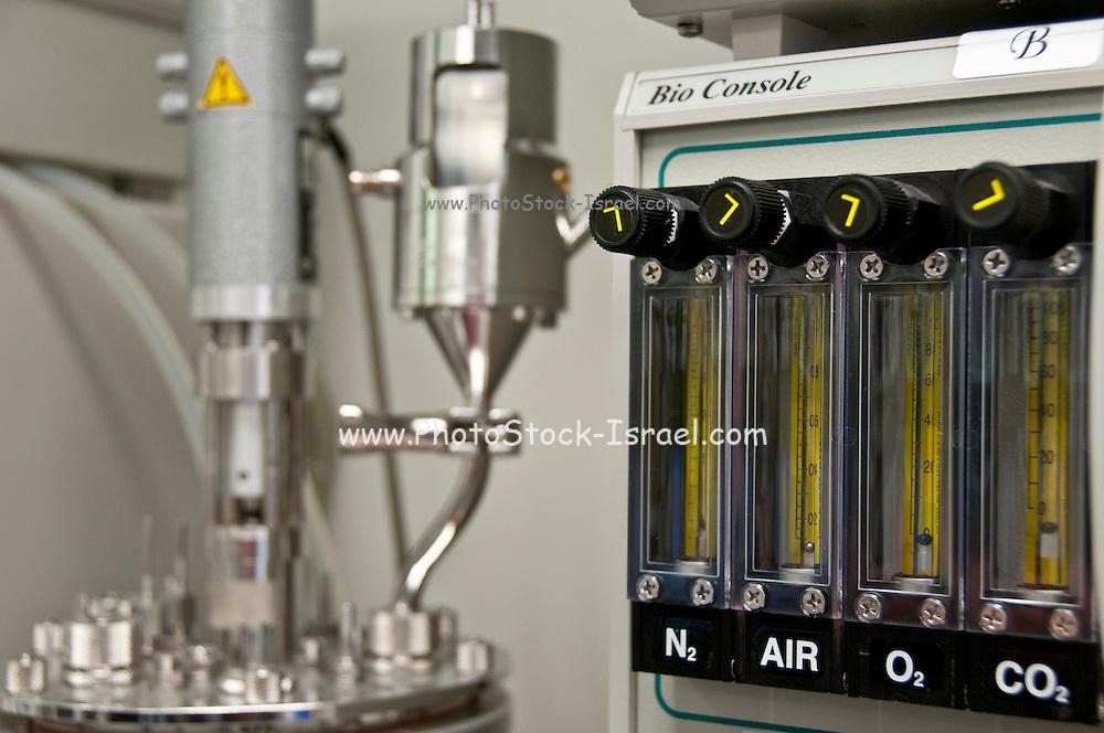 Microbiology Laboratory - Gas supply control consula