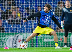 Marko Suler of Maribor at warming up prior to the football match between Chelsea FC and NK Maribor, SLO in Group G of Group Stage of UEFA Champions League 2014/15, on October 21, 2014 in Stamford Bridge Stadium, London, Great Britain. Photo by Vid Ponikvar / Sportida.com