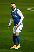 PORTRAIT  BIRMINGHAM CITY'S Scott Hogan during the EFL Sky Bet Championship match between Birmingham City and Huddersfield Town at the Trillion Trophy Stadium, Birmingham, England on 28 October 2020.