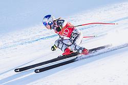 10.01.2020, Keelberloch Rennstrecke, Altenmark, AUT, FIS Weltcup Ski Alpin, Abfahrt, Damen, 2. Training, im Bild Ester Ledecka (CZE) // Ester Ledecka of Czech Republic in action during her 2nd training run for the women's Downhill of FIS ski alpine world cup at the Keelberloch Rennstrecke in Altenmark, Austria on 2020/01/10. EXPA Pictures © 2020, PhotoCredit: EXPA/ Johann Groder