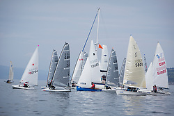 Largs Regatta Festival 2019<br /> <br /> Dinghy Fleet start on Saturday
