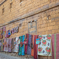 Beautiful, winding, and colorful cobblestone streets add to the magic of Jaisalmer.