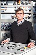 Mauro Bergamino, AD Cubar, azienda di produzione impianti elettrici industriali. Fossano (CN).