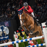 Warm Up - Jumping - 2018 Longines FEI World Cup™ Jumping Final- Paris, France