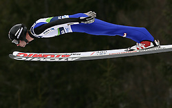 Wolfgang Loitzl (AUT) at Qualification's 1st day of 32nd World Cup Competition of FIS World Cup Ski Jumping Final in Planica, Slovenia, on March 19, 2009. (Photo by Vid Ponikvar / Sportida)