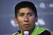 QUINTANA Nairo of Movistar Team during the team press conference prior to the 102nd edition of the Tour de France 2015 with start in Utrecht and finish in Paris