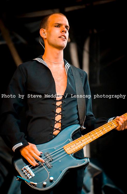 Stefan Olsda - Placebo, V2001, Hylands Park, Chelmsford, Essex, Britain - 19 August 2001