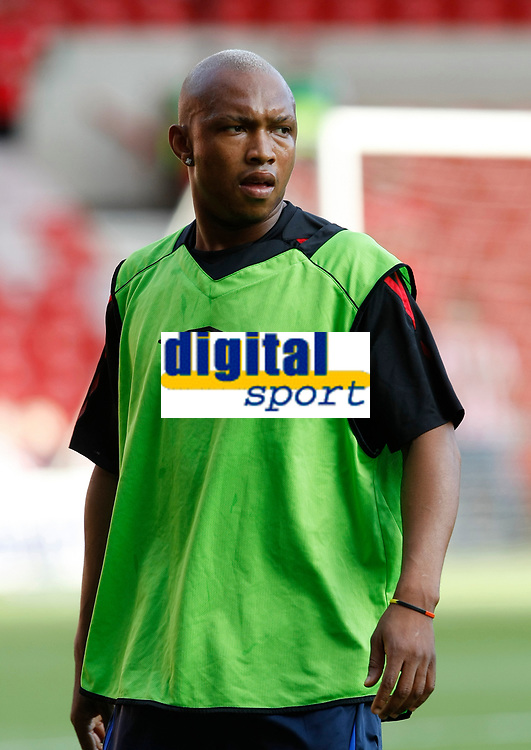 Photo: Steve Bond/Richard Lane Photography. Nottingham Forest v Sunderland. Pre Season Friendy. 29/07/2008. El-Hadji Diouf warms up for Sunderland