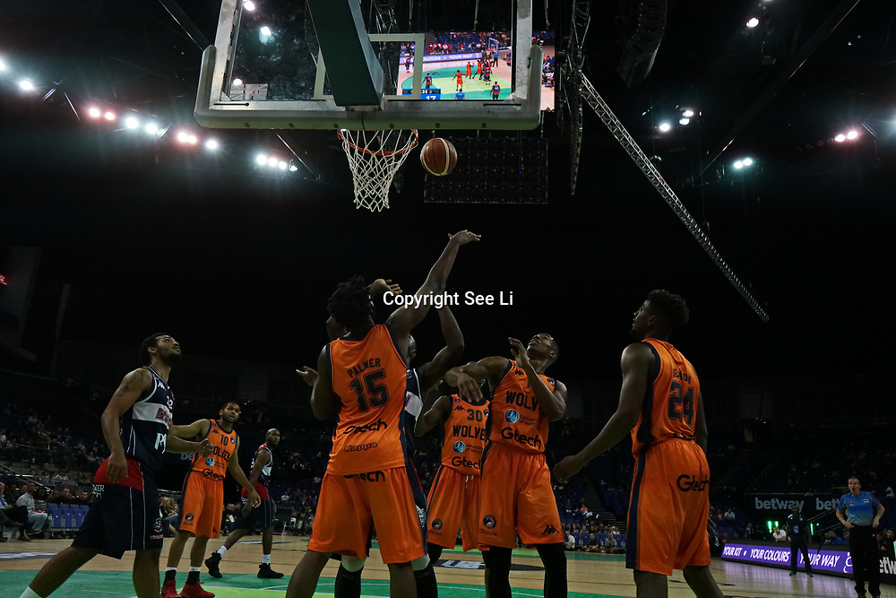 London, England, UK. 24th September 2017. Eight teams challenges each other for Betway British Basketball All-Stars Championship at The O2