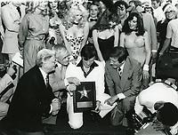 1980 Hugh Hefner's Walk of Fame ceremony