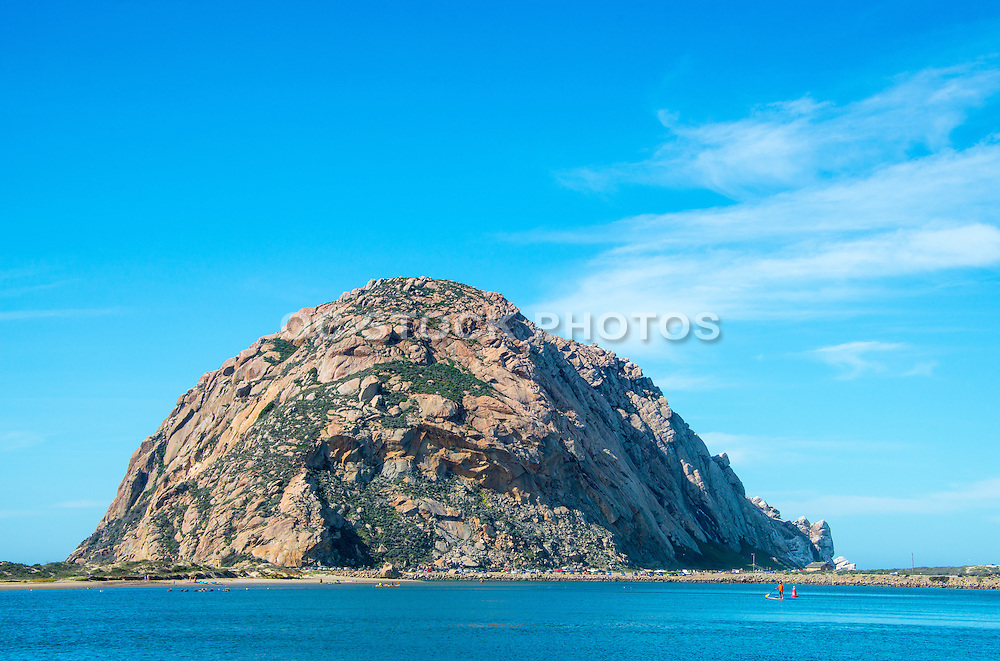 Morro Rock in Morro Bay California