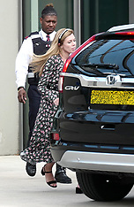 Carrie Symonds seen at the U.S. embassy - 22 Aug 2019