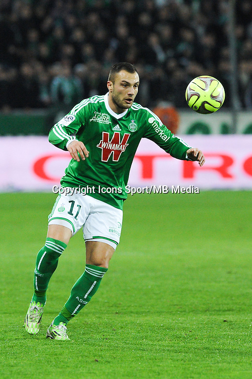Yohan MOLLO - 25.01.2015 - Saint Etienne / PSG - 22eme journee de Ligue1<br /> Photo : Jean Paul Thomas / Icon Sport