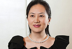 CFO of Huawei Meng Wenzhou Arrested In Vancouver For Extradition - 06 Dec 2018