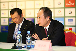 March 9, 2018 - Beijing, Beijing, China - Beijing,CHINA-9th March 2018: The press conference of FINA/CNSG Diving World Series is held in Beijing. (Credit Image: © SIPA Asia via ZUMA Wire)