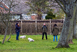 Ecclesfield Park Sheffield  28th March 2020 people now seem to be naturally implementing Social distancing after emergency measures to combat Covid-19 were announced by Prime minister Boris Johnson on Monday evening (23rd march) <br /> <br /> 28 March 2020<br /> <br /> www.pauldaviddrabble.co.uk<br /> All Images Copyright Paul David Drabble - <br /> All rights Reserved - <br /> Moral Rights Asserted -