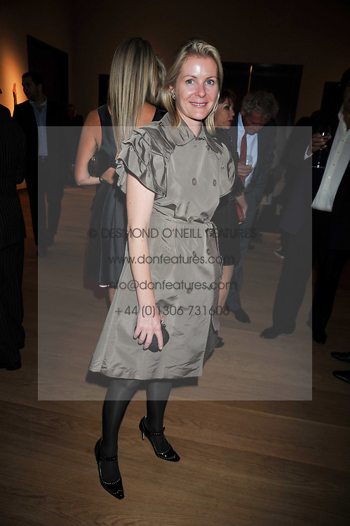 VISCOUNTESS LINLEY at fundraising dinner and auction in aid of Liver Good Life a charity for people with Hepatitis held at Christies, King Street, London on 16th September 2009.