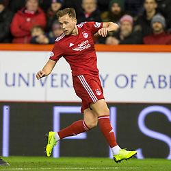 Aberdeen's Greg Stewart during the Ladbrokes Scottish Premiership match at Pittodrie Stadium, Aberdeen