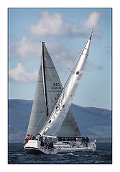 Largs Regatta Week 2011..Class one with Animal and Zephyr