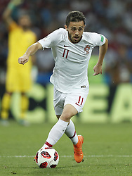 Bernardo Silva of Portugal during the 2018 FIFA World Cup Russia round of 16 match between Uruguay and at the Fisht Stadium on June 30, 2018 in Sochi, Russia