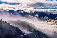 Skiing on Whistler Mountain, Whistler Blackcomb Ski Resort, British Columbia, Canada
