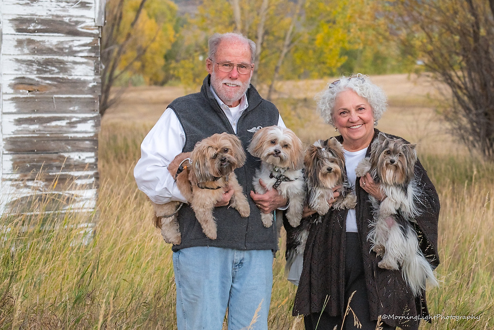 Outdoor Portrait with Pets