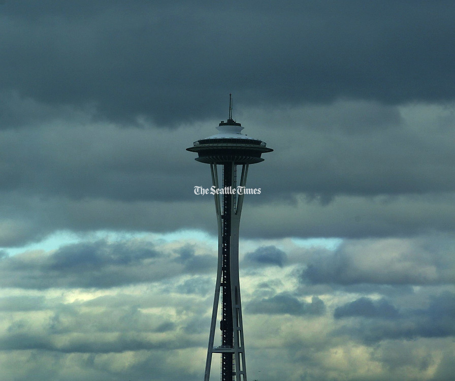 Stratocumulus is the area's signature cloud. Thick and gray as wool socks. (Steve Ringman / The Seattle Times, 2002)