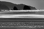 Seascape photographs of the Pacific Ocean from Canon Beach, OR