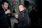 TIM LORD; GRAHAM NORTON, Almeida Gala. Almeida Theatre. Islington. London. 8 February 2009.  *** Local Caption *** -DO NOT ARCHIVE -Copyright Photograph by Dafydd Jones. 248 Clapham Rd. London SW9 0PZ. Tel 0207 820 0771. www.dafjones.com<br /> TIM LORD; GRAHAM NORTON, Almeida Gala. Almeida Theatre. Islington. London. 8 February 2009.