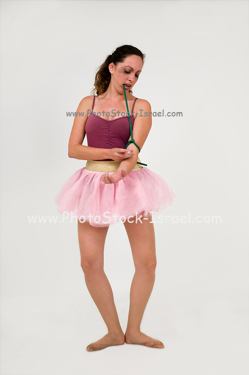 Heroin chic - Heroin Addicted ballet dancer concept