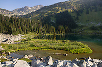 Lower Marriott Lake, Coast Mountains British Columbia