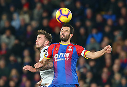 December 26, 2018 - London, England, United Kingdom - London, England - 26 December, 2018.Crystal Palace's Luka Milivojevic.during English Premier League between Crystal Palace and Cardiff City at Selhurst Park stadium , London, England on 26 Dec 2018. (Credit Image: © Action Foto Sport/NurPhoto via ZUMA Press)