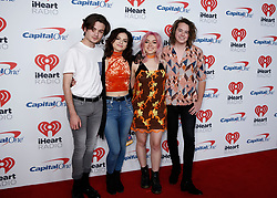 Hey Violet attend the 2017 iHeart Radio Music Festival at T-Mobile Arena on Friday, Sept. 22, 2017, in Las Vegas. Sipa Photo by Bizuayehu Tesfaye/SIPA USA