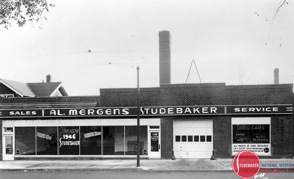 Studebaker dealer Al Mergens, St. Paul, Minnesota