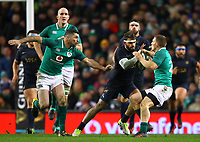 Rugby Union - 2017 Guinness Series (Autumn Internationals) - Ireland vs. Argentina<br /> <br /> Argentina's Ramiro Moyano in action against Ireland's Andrew Conway, at the Aviva Stadium.<br /> <br /> COLORSPORT/KEN SUTTON