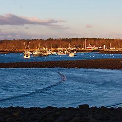 Rye Harbor, New Hampshire.