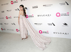 Sofia Carson arriving at the Elton John Oscar Party held in Beverly Hills, Los Angeles, USA.