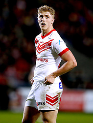 St Helens Saints' Aaron Smith in action against London Broncos, during the Betfred Super League match at the Totally Wicked Stadium, St Helens.