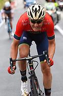 Matej Mohoric (SLO - Bahrain - Merida) during the 101th Tour of Italy, Giro d'Italia 2018, stage 10, Penne - Gualdo Tadino 239 km on May 15, 2018 in Italy - Photo Luca Bettini / BettiniPhoto / ProSportsImages / DPPI